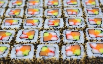 Муляжи роллов и суши, сделанные по фотографиям