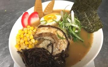 """Chinese soup """"Ramen Chychyu"""""""