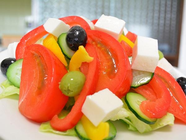 Муляж греческого салата