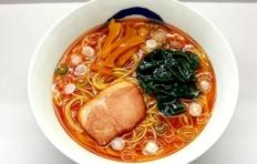 Муляж супа рамен с водорослями