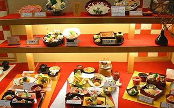 Витрина с макетами блюд вашего меню