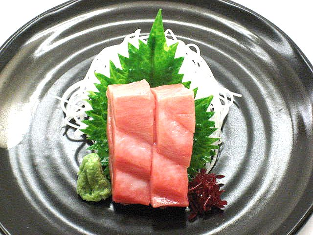 Муляж сашими брюшка тунца