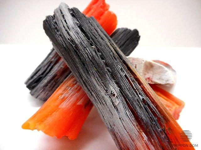 Муляж мелкого древесного угля