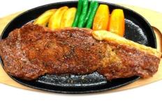 Муляж запечённой мраморной говядины с чёрным перцем