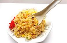 Муляж блюда «Чахан с ложкой»