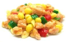 Муляж блюда «Курица, обжаренная с плодами Гинкго»