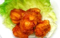 Муляж «Жареные кусочки курицы» 5-6 см (цена за 1 шт)