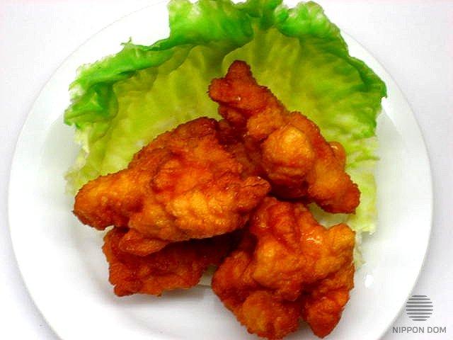 Муляж блюда Жареные кусочки курицы 6-8 см