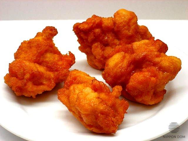 Муляж Жареные кусочки курицы 8 см
