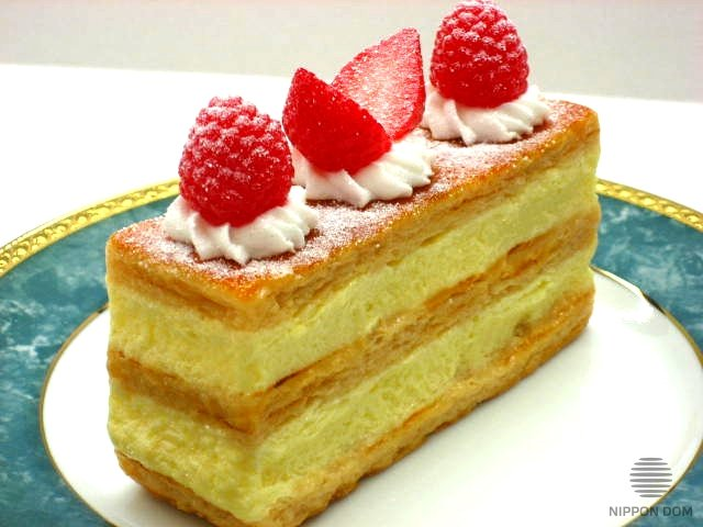 A replica of Mille-Feuille cake