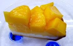 Муляж чизкейка с манго
