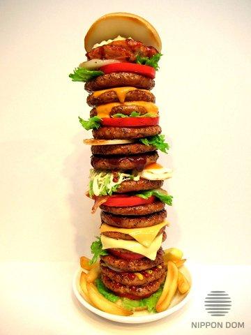 Burger Tower replica