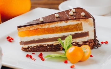"""Cake """"Orange Cappuccino"""""""