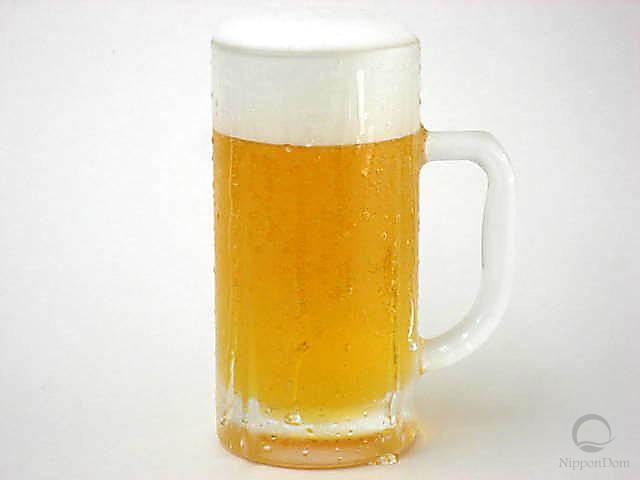Муляж запотевшей кружки пива (330 мл)