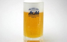 Муляж запотевшей кружки пива «Asahi» (435 мл)