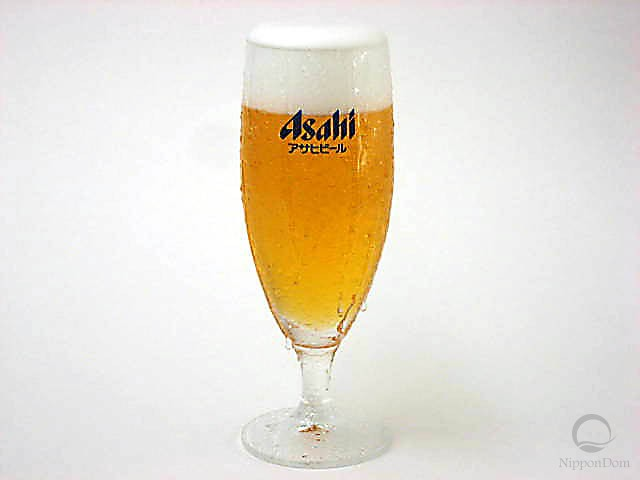 Муляж запотевшего бокала пива Asahi (240 мл)