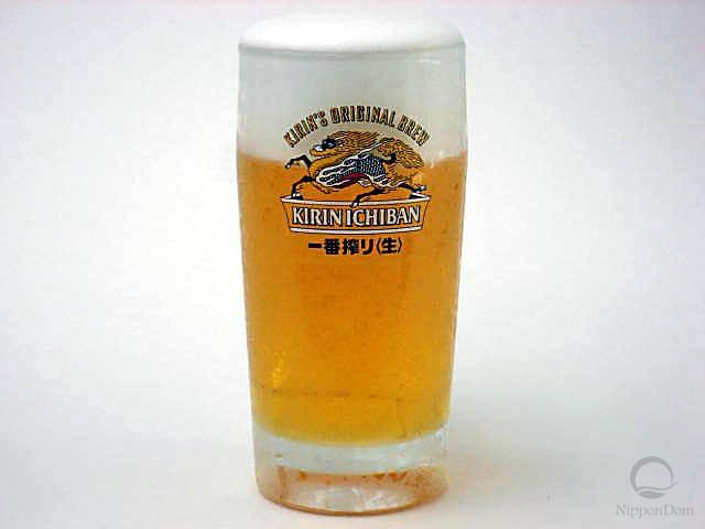 """Муляж кружки пива """"Kirin Ichiban"""" (435 мл)"""