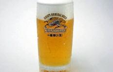 Муляж запотевшей кружки пива «Kirin Ichiban» (435 мл)