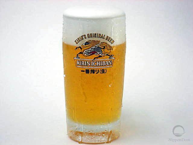 "Муляж запотевшей кружки пива ""Kirin Ichiban"" (435 мл)"