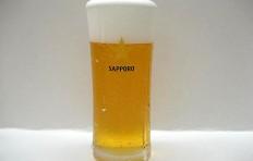 Муляж запотевшего стакана пива «Sapporo» (330 мл)
