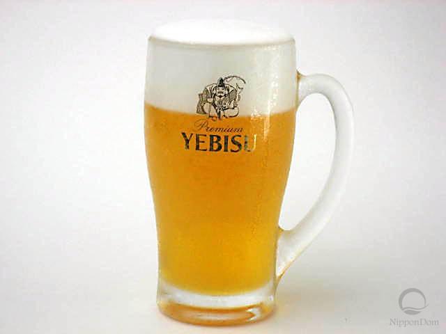 """Муляж кружки пива """"Yebisu"""" (435 мл)"""