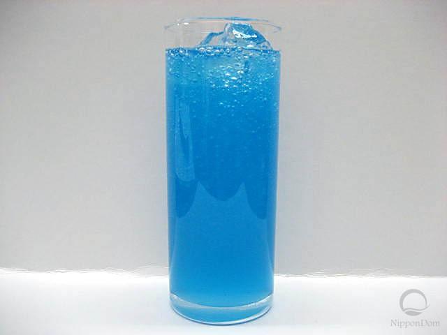 """Муляж газированной воды """"Blue Hawaii"""""""