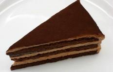 Муляж шоколадного торта-2