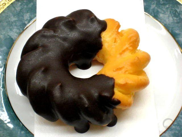 муляж пончика Шоколадный цветок