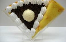 Муляж блина «Шоколад с мороженым»