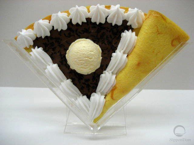 """Муляж блина """"Шоколад с мороженым"""""""