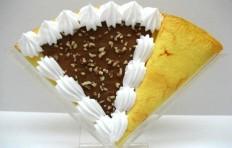 Муляж блина «Шоколад и орехи»