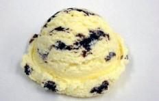 Муляж ванильного мороженого с шоколадом-1