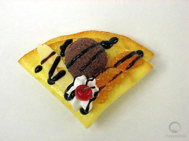 Блинчик с шоколадным мороженым-3