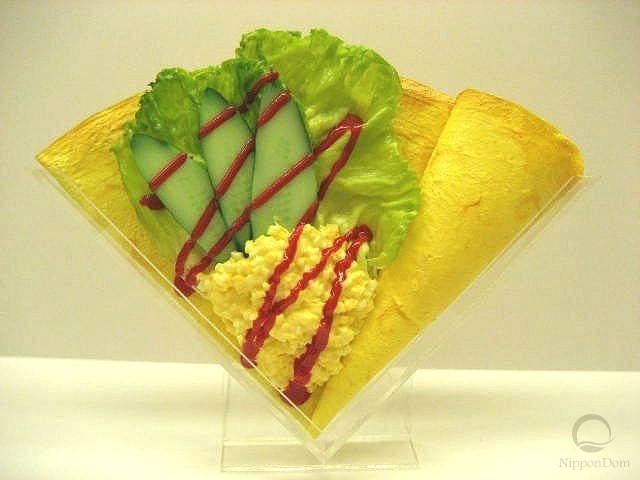 Салат из яиц и овощей