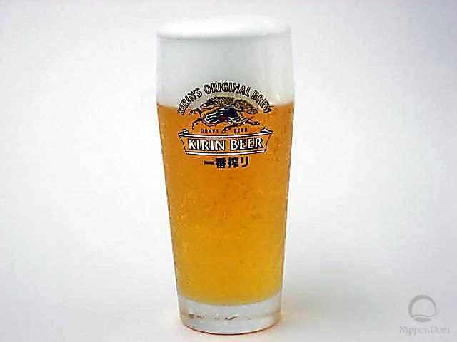 Муляж кружки пива Kirin Ichiban (330 мл)