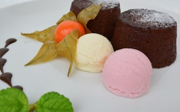"""Стоимость муляжа десерта """"Шоколадный кекс"""" 157 $"""