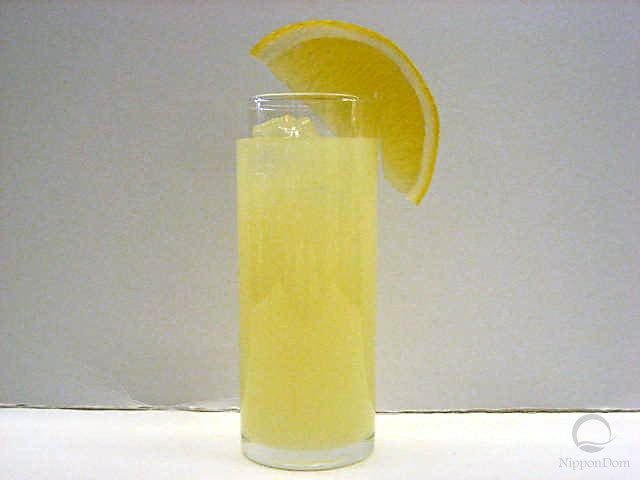Муляж грейпфрутового сока с лимоном