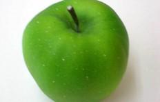 Муляж зеленого яблока (85/ 90 мм)