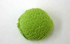 Муляж мороженого «Зеленый чай» (50×33 мм)