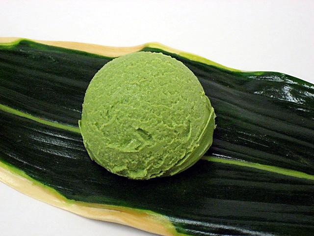 """Муляж мороженого """"Зеленый чай"""""""