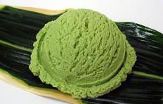Муляж мороженого «зеленый чай» (светлый)