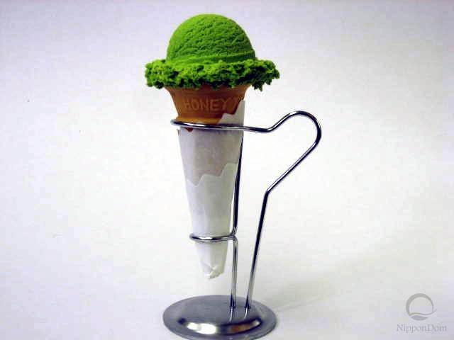 Муляж мороженого со вкусом зеленого чая