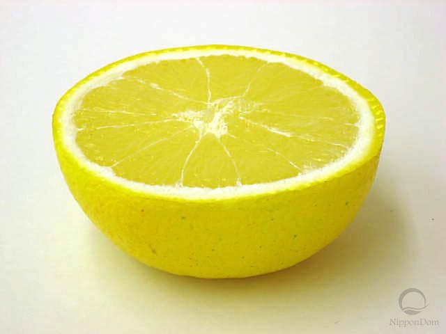 Муляж половинки грейпфрута