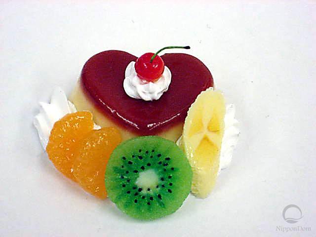 Пудинг в форме сердца