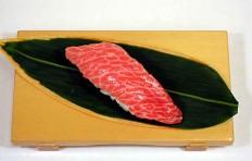 Муляж суши «тунец жирный»-5