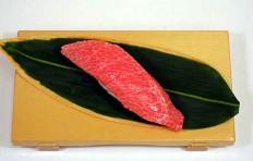 Муляж суши «тунец жирный»-6