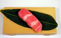 Муляж суши «тунец жирный»-7