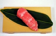Муляж суши «тунец жирный»-8