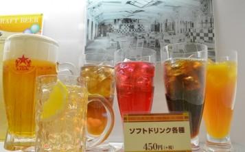Ресторан «Ginza Lion» (Ueno). Витрина.