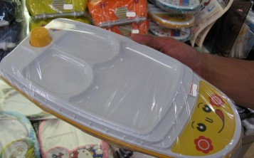 Plastic replicas of dishes - Children's crockery